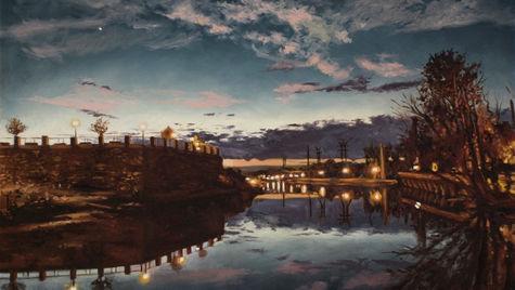Riverfront Twilight