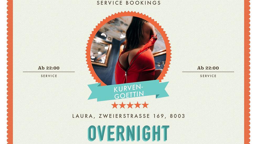 Overnight ab 22.00