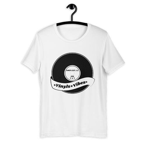 """Vinyls & Vibes"" T-Shirt 0120"