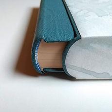 étui bordé cuir coffret de conservation restauration reliure atelier de reliure amélie guédon cholet nantes