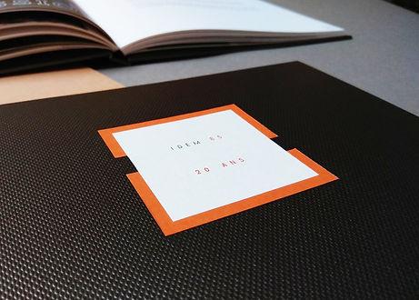livre d'or entreprise reliure personnalisée artisan relieur atelier de reliure amélie guédon cholet nantes
