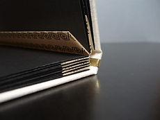 livre d'or mariage personnalisé reliure artisanale album photos artisan relieur amélie guédon cholet nantes