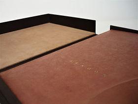 coffret de conservation reliure création restauration reliure atelier de reliure amélie guédon cholet nantes