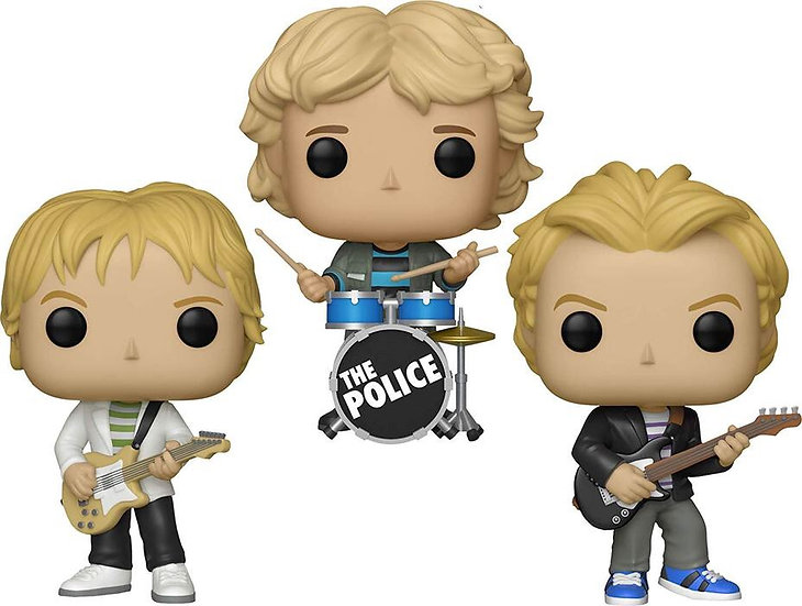 The Police Funko POP! (Full Band)
