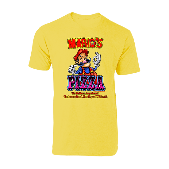 Mario's Pizza Yellow (Tee)