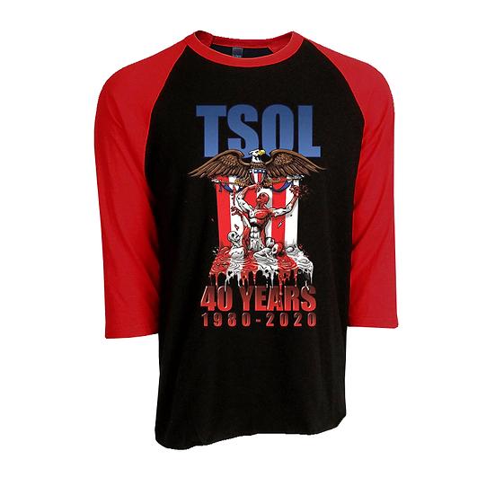 """TSOL """"1980-2020"""" (Raglan)"""