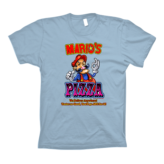 Mario's Pizza Blue (Tee)