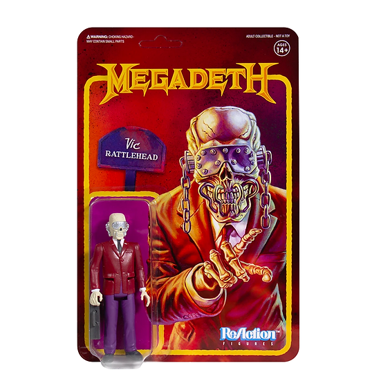 "Megadeth ""Vic Rattlehead"" Action Figure"