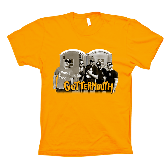 Guttermouth Yellow Tee