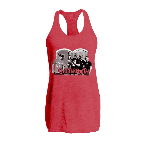 Guttermouth Red Tank (Ladies)