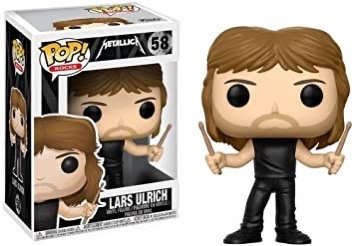Lars Ulrich Funko POP!