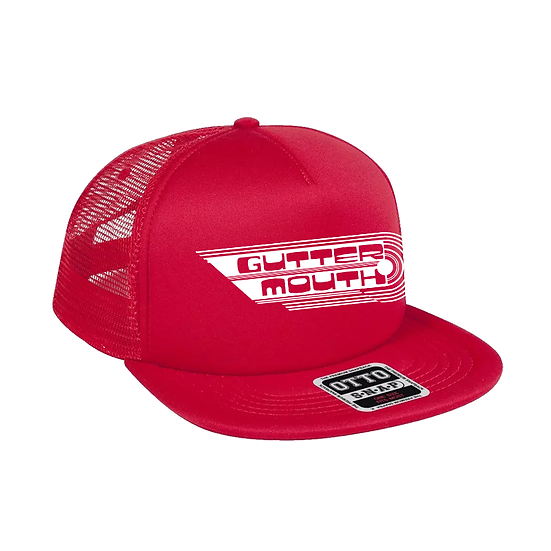 Guttermouth Trucker Cap (Red)