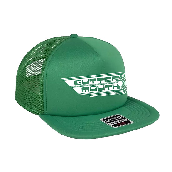 Guttermouth Trucker Cap (Green)