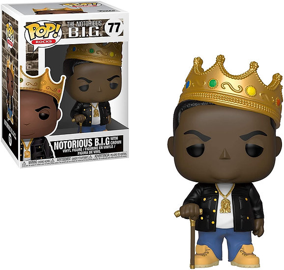 Notorious B.I.G Funko POP! (Crown)