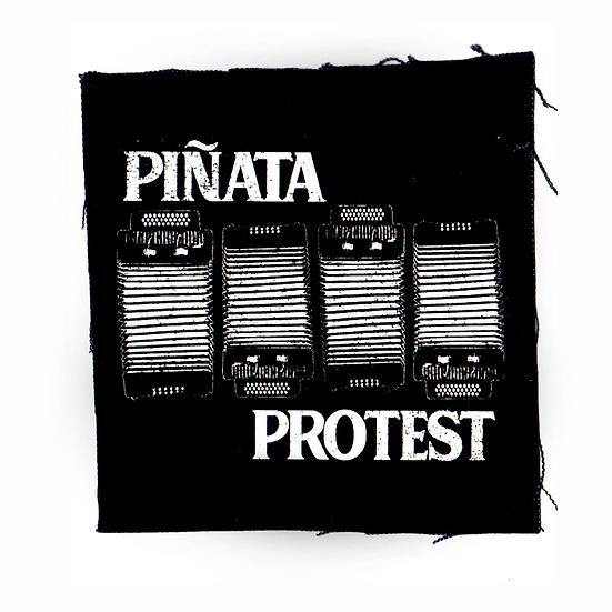 "Piñata Protest ""Black Flag"" patch"