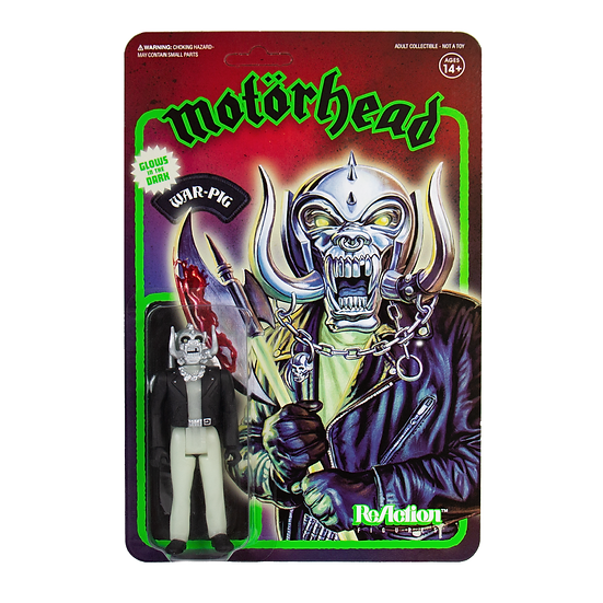 Motörhead War-Pig Action Figure (Glow in the Dark)