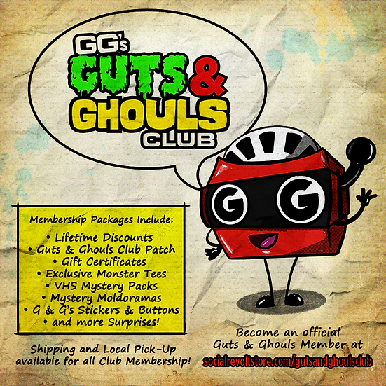 Guts & Ghouls Club: Monster Squad