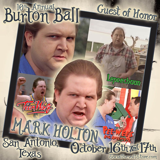 Mark Holton Autograph Ticket