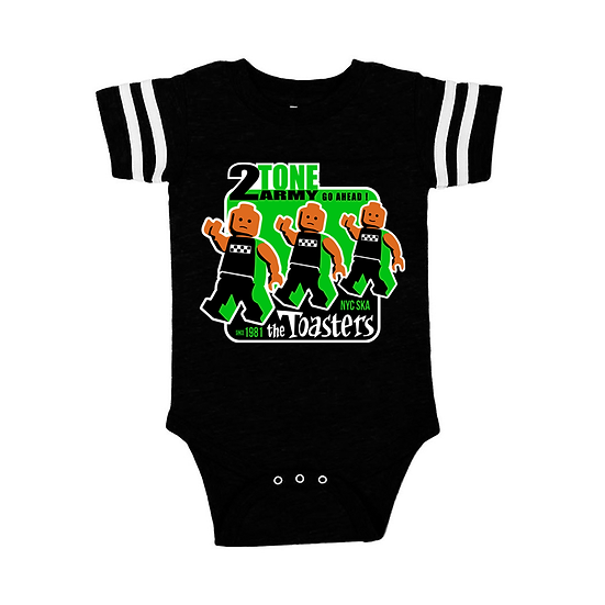 The Toasters 2-Tone Army (Onesie Ringer)