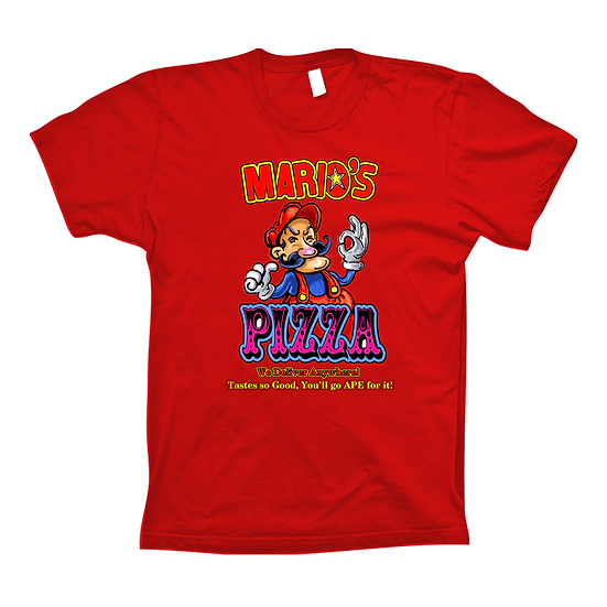 Mario's Pizza Red (Tee)
