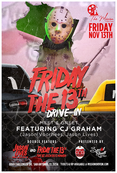 Friday the 13th Drive-In & Fall Frights Market VENDOR Space (Weekend)