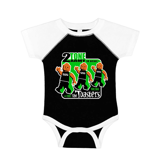 The Toasters 2-Tone Army (Baseball Onesie)