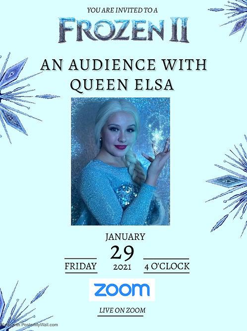 Disneyland Workshop - An Audience with Queen Elsa