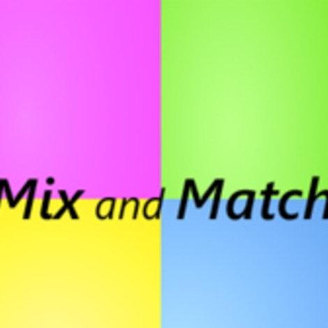 Mix & Match 8 Workshops