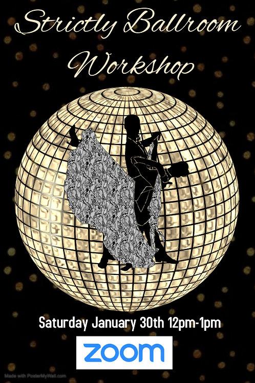 Strictly Ballroom Workshop