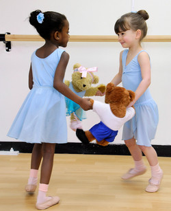 MMEL Dancing with Melody Bear