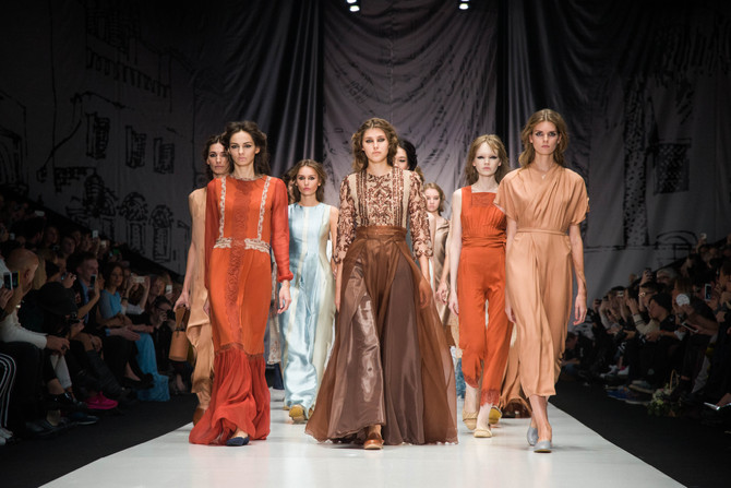Mercedes-Benz Fashion Week Russia Alexandra Vanushina