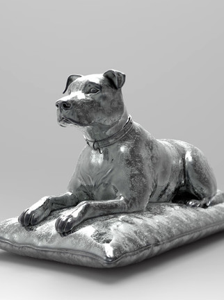 CORDIALS - DOG ON A PILLOW