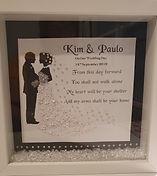 Wedding Couple Framed Gift