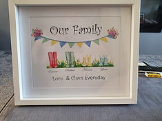 """Our Family """"Wellies"""""""