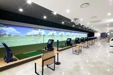 simuladores golf para academias