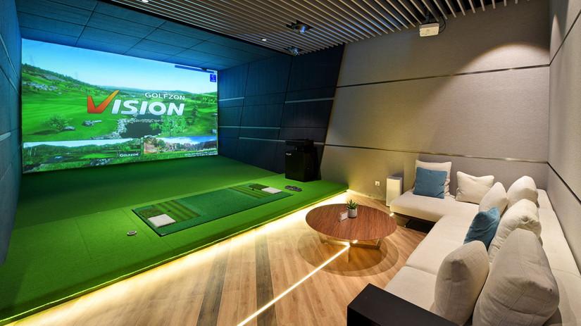 amenidades para hotel, simulador golf
