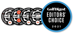 Golf Digest Editor's Choice | Simulador #1 en el Mundo