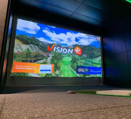 simulador golfzon premium