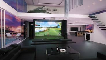 tecnología golfzon, simuladores