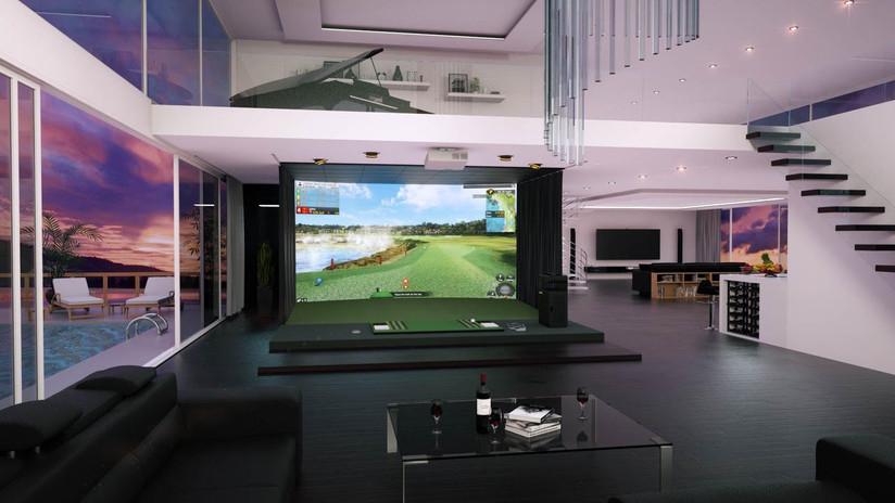vision premium golf simulator