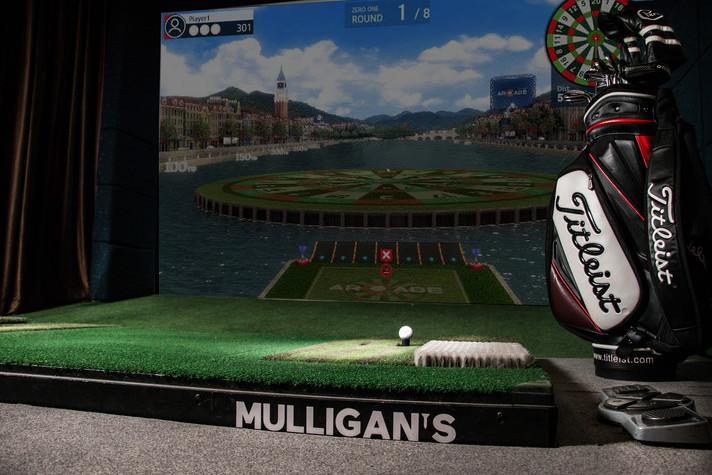Mulligan's   Simuladores de Golf   Restaurante & Bar