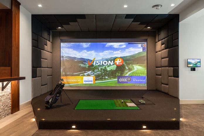 El Mejor Simulador de Golf | Golfzon | Residencial
