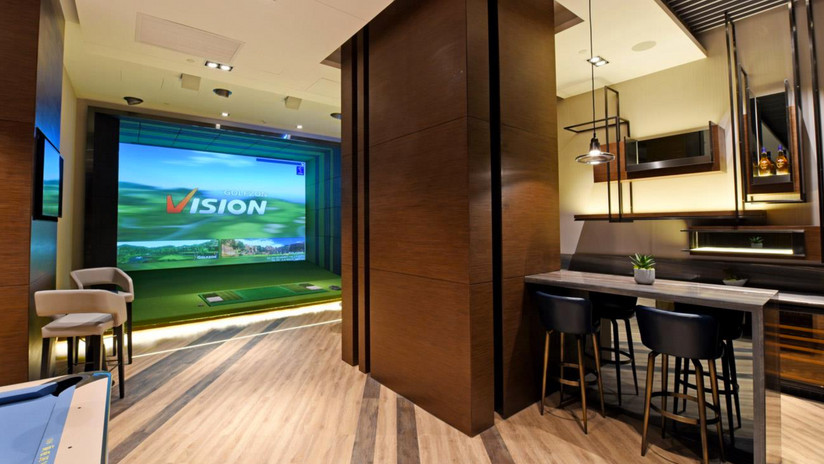 simulador golf en desarrollos inmobiliarios