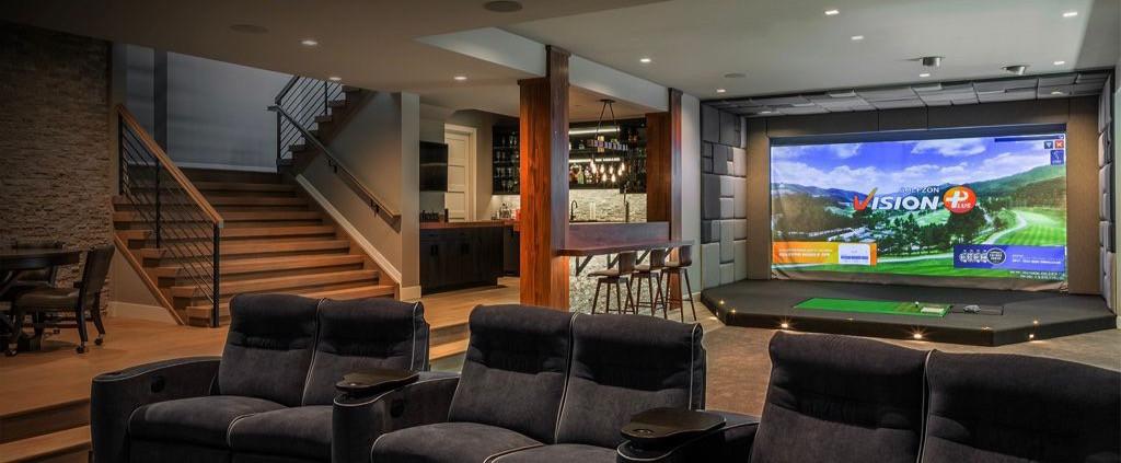 Simulador de Golf en tu Casa | Golfzon