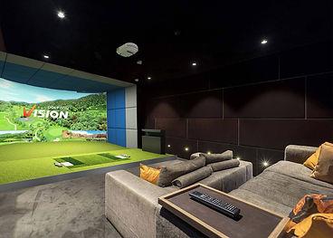 Simulador de Golf Casas