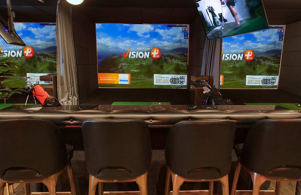 golfzon, simulador golf premium