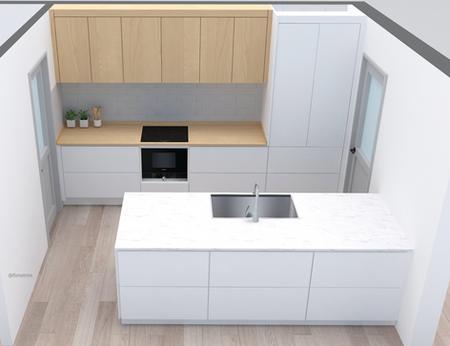 창조적 감각이 풍기는 블랙 주방 인테리어 Design a kitchen #5 @flimetree_studio