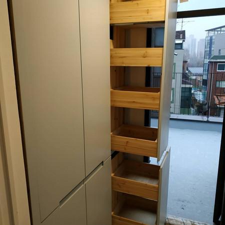 우연을 통한 새로운 시도가 만들어내는 주방 디자인 @flimetree_studio