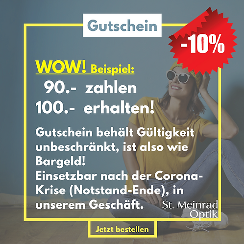 Gutschein-Aktion (10% sparen!!)