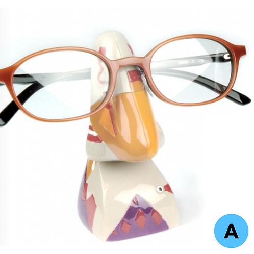 Brillenhalter: Abstrakte Nasen